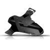 "rie:sel design schlamm:PE Front Mudguard 26-29"" stealth"